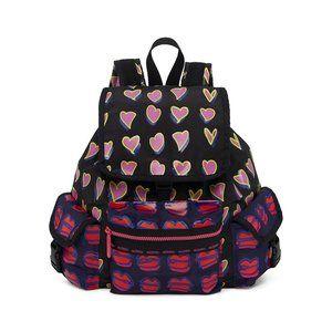 Alber Elbaz x LeSportsac Heart & Lip Backpack Med.